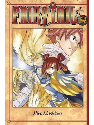 cover image of Fairy Tail, Volume 54